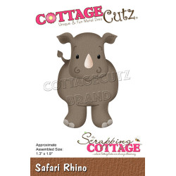 CottageCutz - Safari Rhino...