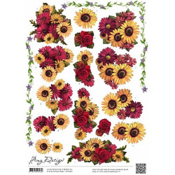 Amy Design - Mixed Flowers...