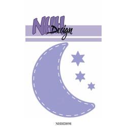 NHH Design - Moon & Stars -...
