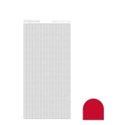 Hobbydots Lines - Rød
