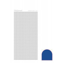 Hobbydots Lines - Mirror Blue