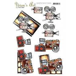 Yvon's Art - Camera - CD11618