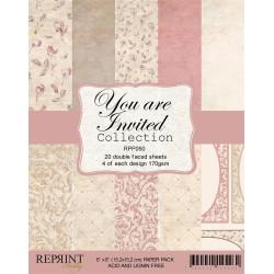 Reprint - Papirpakke 15x15...