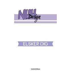 NHH Design - Elsker Dig -...