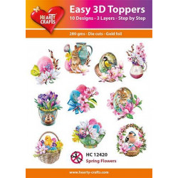 Easy 3D Toppers - Spring...