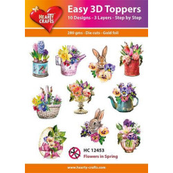Easy 3D Toppers - Flowers...