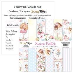 ScrapBoys - Papirblok 20x20...