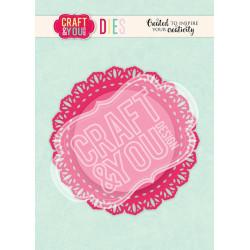 Craft & You - Doily 4 - CW106