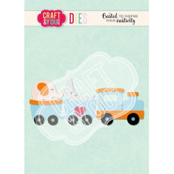Craft & You - Train Baby Toy - CW110