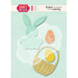 Craft & You - Easter Bunny - CW113