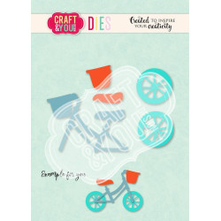 Craft & You - Baby Bicycle - CW114