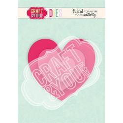 Craft & You - Hearts - CW124