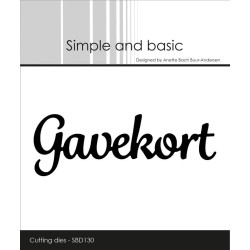 Simple And Basic - Gavekort...