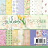 Jeanine's Art - Papirpakke - Welcome Spring - JAPP10018