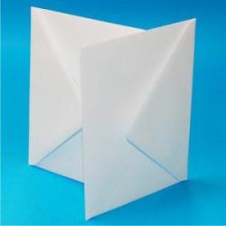 Kuverter C5 - Hvid