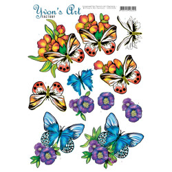 Yvon's Art - Butterflies...