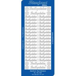 Paper line - Metallic papir A4 120g Hvid 10ark