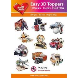 Easy 3D Toppers - Men's...