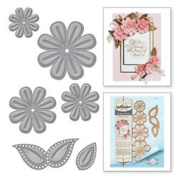 Spellbinders - Shapeabilities - Cinch And Go Flowers Two  - S4-792