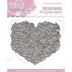 Precious Marieke - Romance - Filigree Heart - PM10027