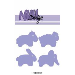 NHH Design - Choppy Animals...