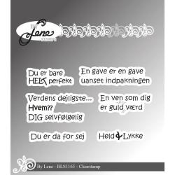 By Lene - Stempel - Danske...