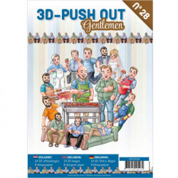 3D Push Out Book - Gentlemen