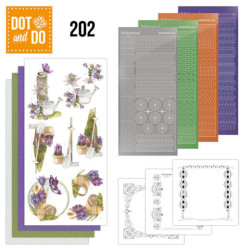 Dot And Do 202 - Beautiful Garden - Butterfly