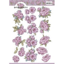 Yvonne Creations - Pink Rose - CD11598