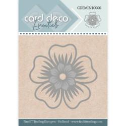 Card Deco Essentials - Mini Dies - Flower - CDEMIN10006