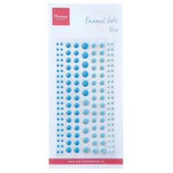 Marianne Design - Enamel Dots - Two Blue