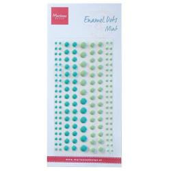 Marianne Design - Enamel Dots - Two Mint