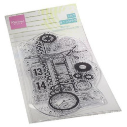Marianne Design - Clear Stamps - Airplane - MM1644