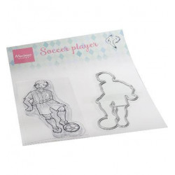 Marianne Design - Stempel + Die - Hetty's Soccer Player - HT1662