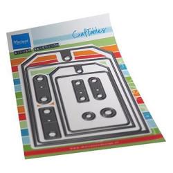 Marianne Design - Craftables - Big Tag - CR1551