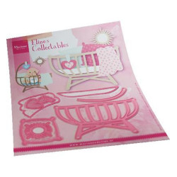 Marianne Design - Collectables - Eline's Baby Cot - COL1495
