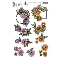 Yvon's Art - Label Flowers...