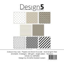 Design5 - Papirpakke 15x15...