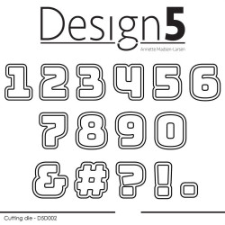 Design5 - Numbers w/Shadow...