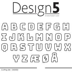 Design5 - Small Alphabet -...