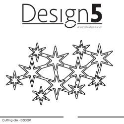 Design5 - Stars - D5D007