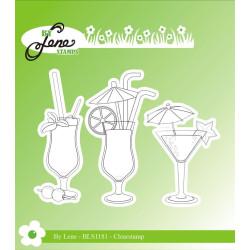 By Lene - Stempel - Drinks...