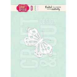 Craft & You - Butterfly 2 -...