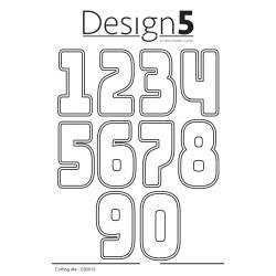 Design5 - XL Numbers - D5D015