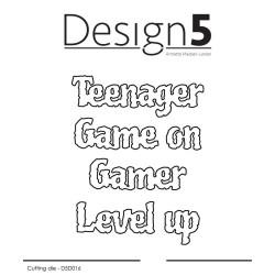 Design5 - Teenager & Gamers...