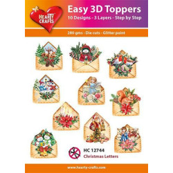 Easy 3D Toppers - Christmas...
