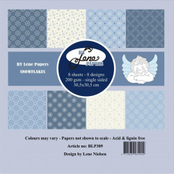By Lene - Papirpakke 30x30...