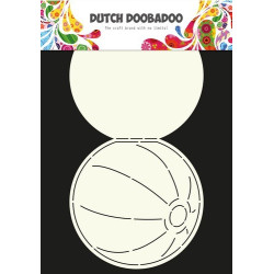 Dutch Dobadoo - Card Art - Beach Ball