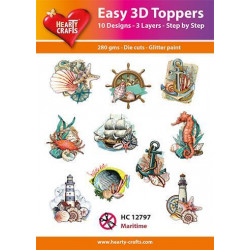 Easy 3D Toppers - Maritime