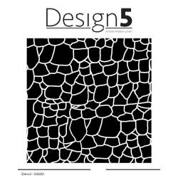 Design5 - Stencil - Stone Wall